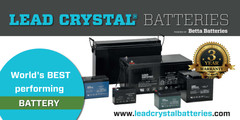 Lead Crystal Battery Banner 2016